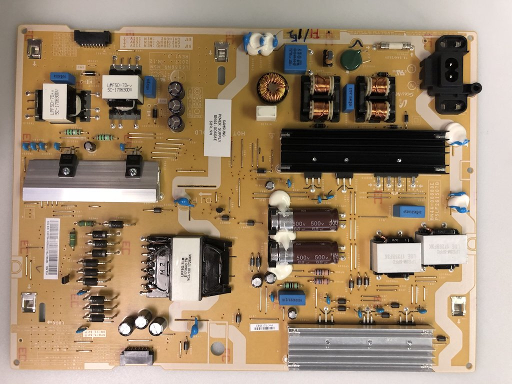 Samsung UN65MU6500FXZA UN58MU6100FXZA Power Supply LED Board BN44-00808E