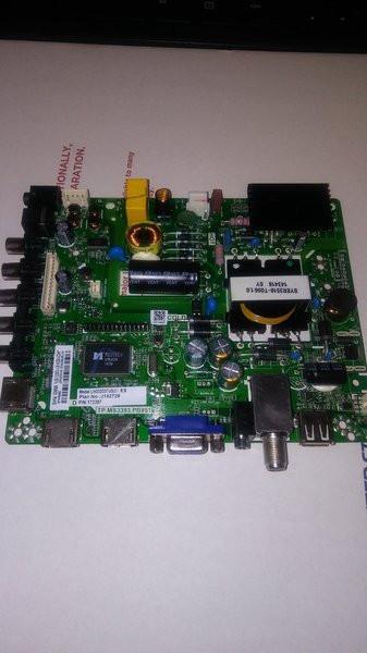 TP MS3393 PB851 , 173397 , 32H3E 32J1427 HISENSE Main Board/Power Supply  for 32H3E (Serial beginning w/32G1427)