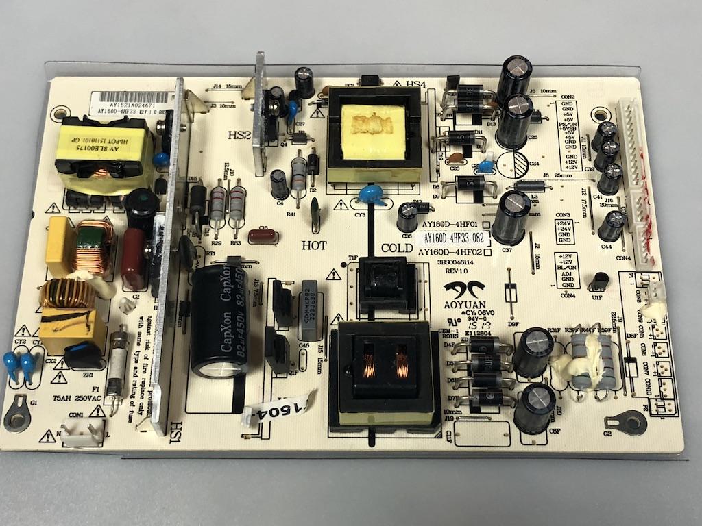 SANSUI AY160D-4HF33-082 Power Supply Board - Torres TV Parts